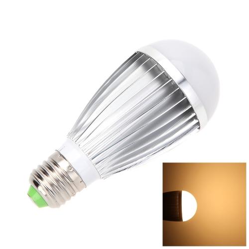 E27 9W 18 SMD 5630 LED Warm White Microwave Radar Motion Ambient Light Sensor Lamp Bulb L0356WW