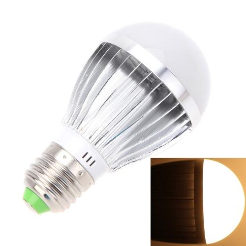 E27 5W 10 SMD 5630 LED White Microwave Radar Motion Ambient Light Sensor Lamp Bulb L0358WW