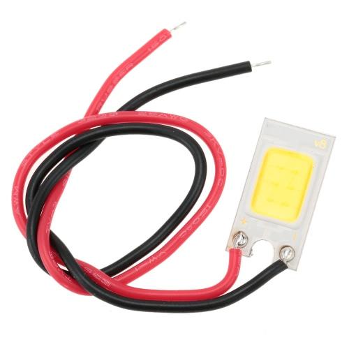 Chip de espiga de LED 3W 12V DC com fio de alta potência alta natural quente brilhante branco gelo azul от tomtop.com INT