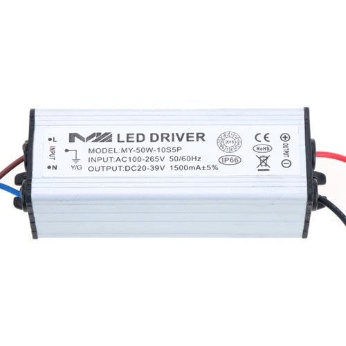 100-265V AC to 20-39V DC 50W LED Driver AC/DC Adapter Transformer Switch Power Supply IP66 CE RoHsWires &amp; Cables<br>100-265V AC to 20-39V DC 50W LED Driver AC/DC Adapter Transformer Switch Power Supply IP66 CE RoHs<br><br>Blade Length: 9.5cm