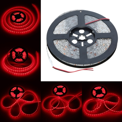 LIXADA LED vermelho tira luz SMD 5050 flexível luz IP65 60LEDs/m 5m/lot 12V para Bar Hotel restaurante от tomtop.com INT