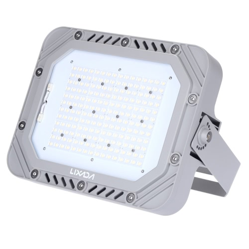 LIXADA UL Certification 100-277V 150W 17250LM High Bright IP66 Water Resistant White LED Flood Light Spotlight Security Lamp for Garden Wall Outdoor Illumination