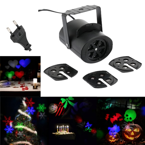 85-260V 4W Mini LED RGB Gobo Light Effect Stage Lamp with 4 Changeable Multi-pattern Cards for Birthday Party Valentines Day Wedding Halloween Christmas FestivalStage Lighting Effect<br>85-260V 4W Mini LED RGB Gobo Light Effect Stage Lamp with 4 Changeable Multi-pattern Cards for Birthday Party Valentines Day Wedding Halloween Christmas Festival<br><br>Blade Length: 17.0cm
