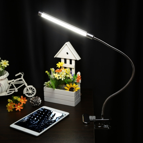 USB Clamp LED Desk Table Lamp Adjustable Clip-on Flexible Gooesneck Light 6W 18LED  Eye Protection with Switch for Reading Study Bed LaptopDesk Lamps<br>USB Clamp LED Desk Table Lamp Adjustable Clip-on Flexible Gooesneck Light 6W 18LED  Eye Protection with Switch for Reading Study Bed Laptop<br><br>Blade Length: 30.0cm