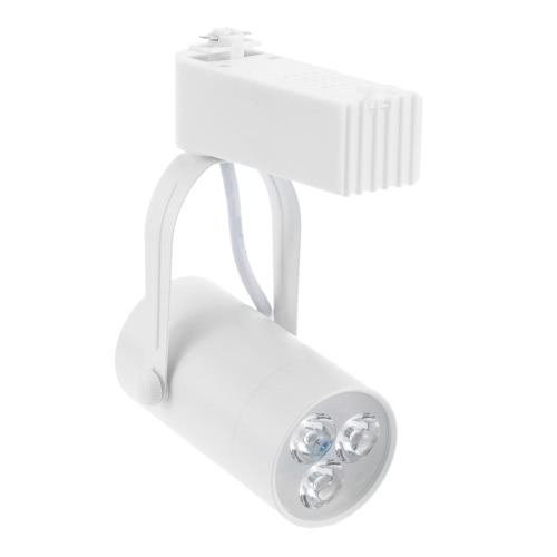 3W LED Track Rail Light Spotlight Adjustable for Mall Exhibition Office Use AC85-  265VSpotlights<br>3W LED Track Rail Light Spotlight Adjustable for Mall Exhibition Office Use AC85-  265V<br><br>Blade Length: 15.0cm