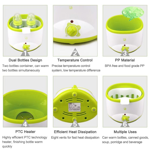 GL Electric Baby Bottle Warmer Milk Food