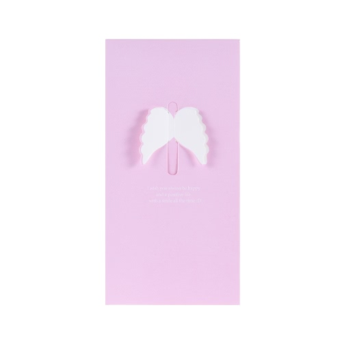 4-pack Creative Stereo Heart-shaped Butterfly Fine Romantic Greetings Card Thanksgiving Christmas Gift Enclosed EnvelopStationery<br>4-pack Creative Stereo Heart-shaped Butterfly Fine Romantic Greetings Card Thanksgiving Christmas Gift Enclosed Envelop<br><br>Blade Length: 17.5cm
