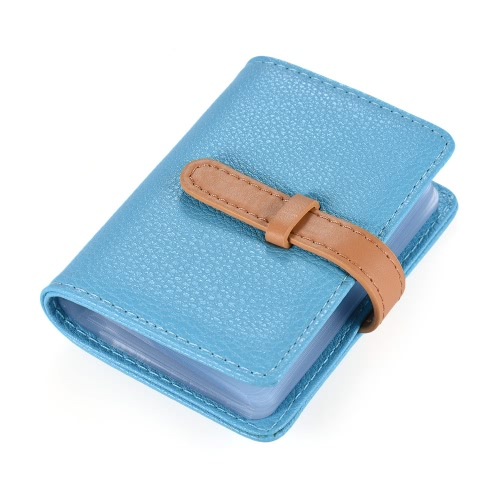 Stylish Synthetic PU Leather Business Bank ID Name Credit Card Holder Case Bag Wallet with 26 Card slotsStationery<br>Stylish Synthetic PU Leather Business Bank ID Name Credit Card Holder Case Bag Wallet with 26 Card slots<br><br>Blade Length: 11.0cm