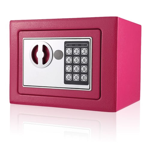 Electronic Digital Keypad Lock Safe Security Box All Steel for Home Office 9.05 * 6.69 * 6.69inchesStationery<br>Electronic Digital Keypad Lock Safe Security Box All Steel for Home Office 9.05 * 6.69 * 6.69inches<br><br>Blade Length: 25.0cm