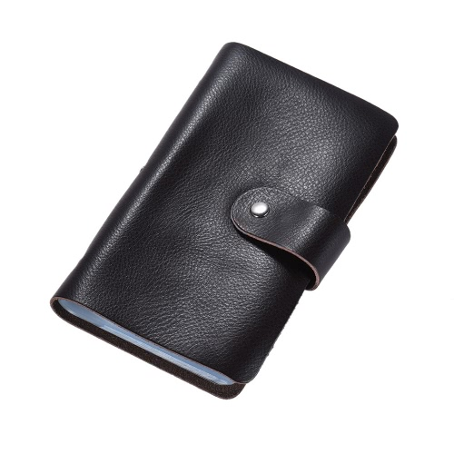 High-quality Leather Business Credit Bank ID Name Card Holder Case Bag Wallet Book Style with 96 Card Pockets for Men WomenStationery<br>High-quality Leather Business Credit Bank ID Name Card Holder Case Bag Wallet Book Style with 96 Card Pockets for Men Women<br><br>Blade Length: 19.0cm