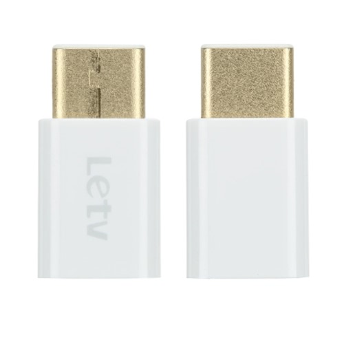 Buy Letv Reversible Design USB 3.1 Type-C Connector Micro Adapter Nokia N1 ZUK Z1 Xiaomi 4c Interface Smartphone Tablet PC