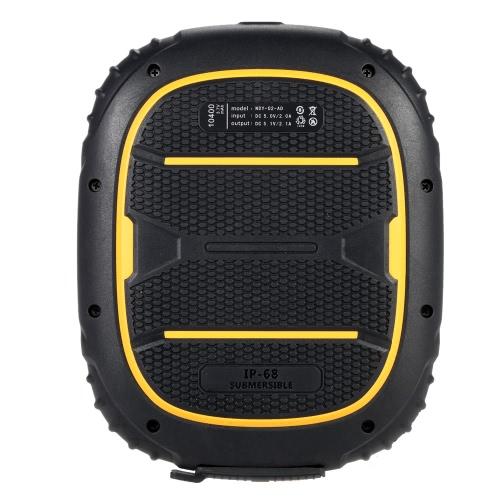 Original Kenxinda Max 7 Waterproof IP68 Shockproof Power Bank 10400mAh Outdoor External Battery Back Portable Charger for iPhone 6S 6 Plus Samsung S6 Edge Tablet