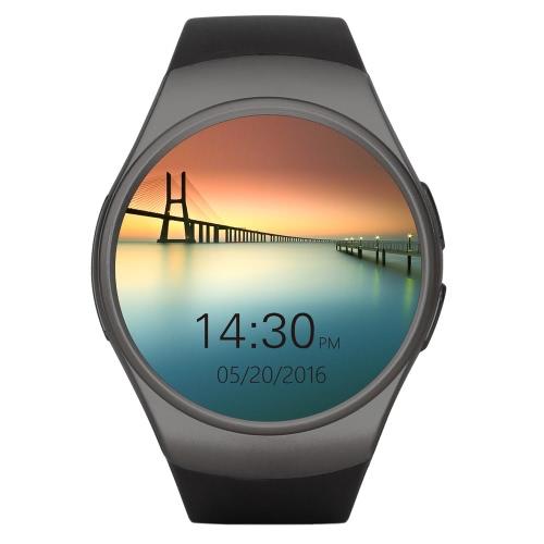 KW18 Bluetooth Heart Rate Smart Wrist Watch