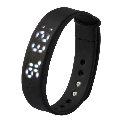 A6 Smart Band Smartband for Android Smartphone with OTG Function Computer 3D Pedometer Calorie Monitor Smart Sleep Monitor Silent Alarm Movement Data Memory Time/Date PA3547B