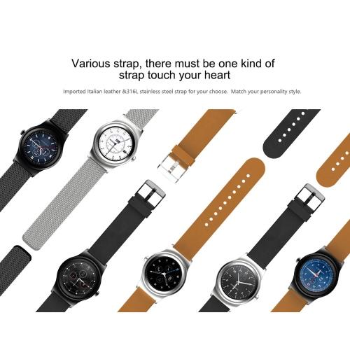 SAM-R Full Round Screen Smart Watch 1.3inch