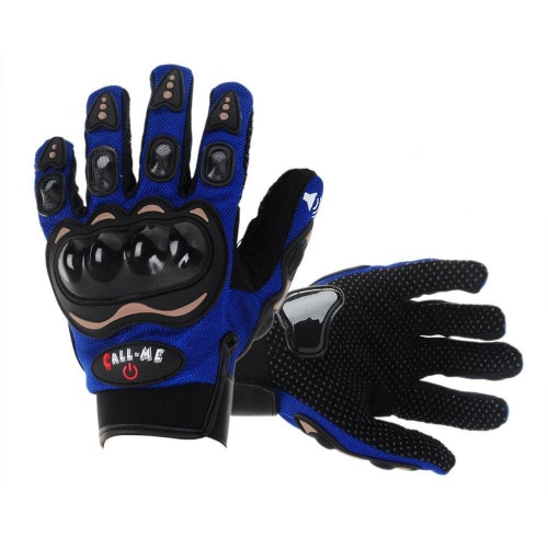 Fashion Call Me Wireless Motorcycle Cycling Bike Full Finger Gloves Bluetooth 3.0 Headset Earphone Headphone with Microphone   Answering/Hang Up Calls
