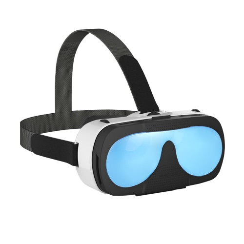 "VRTOTO VR 3D Glasses Headset Virtual Reality Function 3D Movies Blue-glass Lenses Focal Length Distant View Adjust for iPhone 6 6S 6 Plus 6S Plus 6"" and Below   Smartphone"