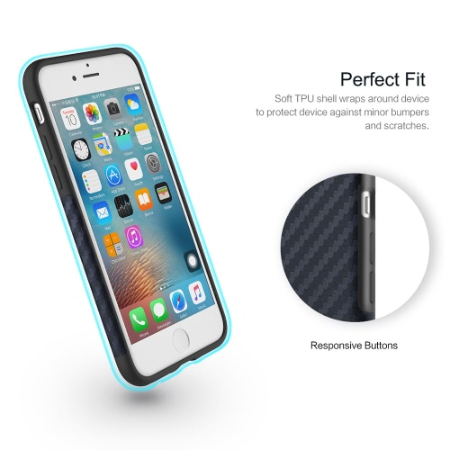 ROCK Carbon Fiber Grain TPU Phone Case 360 Degree Full Protect Phone Cover Protective Shell High Quality Soft Case for iPhone 7 4.7inchPhone Protection Accessories<br>ROCK Carbon Fiber Grain TPU Phone Case 360 Degree Full Protect Phone Cover Protective Shell High Quality Soft Case for iPhone 7 4.7inch<br><br>Blade Length: 18.0cm