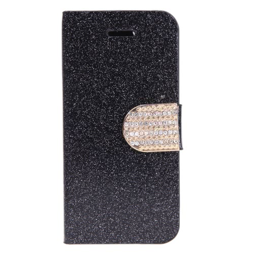 Fashion Wallet Case Flip Leather Stand Cover with Card Holder for iPhone 5S 5C 5 BlackPhone Protection Accessories<br>Fashion Wallet Case Flip Leather Stand Cover with Card Holder for iPhone 5S 5C 5 Black<br><br>Blade Length: 12.7cm