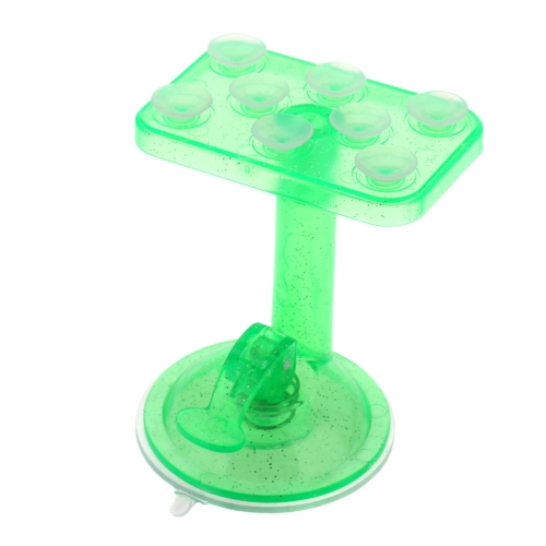 360 Degree Rotation Car Mounting 8 Suction Cups Adsorption Translucent Universal Phone Holder Bracket Stand for iPhone Samsung PA2215