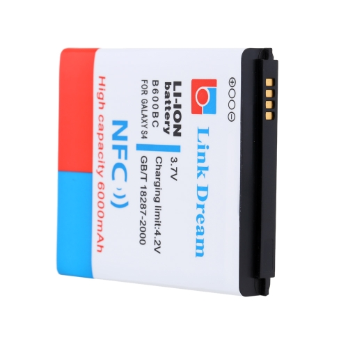 Image of Link Dream 3.7V High Quality 6000mAh Mobile Phone Battery with NFC & Cover Back Door for Samsung Galaxy S4 / i9500 B600BC