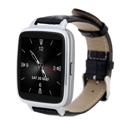 Lonfine Bluetooth 4.0 Smart Watch Genuine Leather