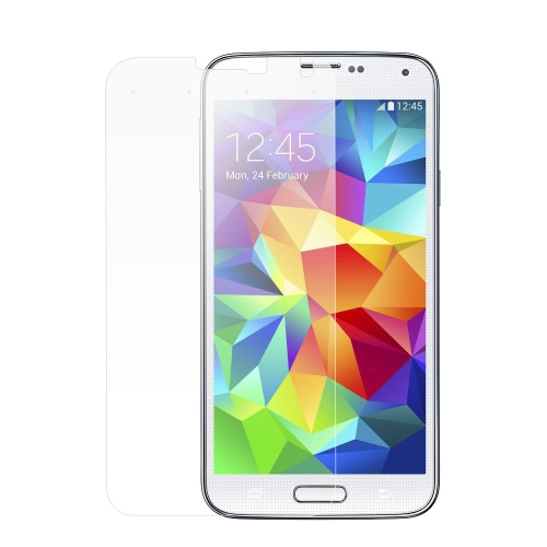New ADPO Tempered Glass Screen Protector Cover Film with 4 Smart Virtual Keys for Samsung S5 9H 0.33mm Ultrathin High Transparency Anti-dirt Shatterproof Anti-scratch