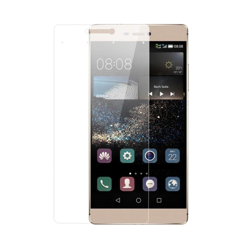 New ADPO Tempered Glass Screen Protector Cover Film with 4 Smart Virtual Keys for HUAWEI P8 9H 0.33mm Ultrathin High Transparency Anti-dirt Shatterpr PA2883