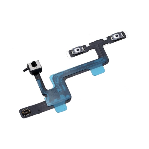 Volume Button Repair Fix Replace Replacement Parts with Mute Silent Vibrator Flex Cable for iPhone 6 4.7 PA2939