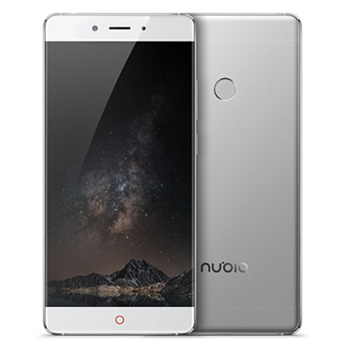 nubia Z11 Edgeless Smartphone 4G LTE 3G WCDMA Qualcomm Snapdragon 820 64-bit Quad Core 5.5 Inches 2.5D Arc FHD 1920*1080 Pixels Screen nubia UI OS 4GB RAM+64GB ROM 8MP+16MP Dual Cameras 0.1s Fingerprint Unlock Quick Charge 3.0 Type C OTG NFC Dual-band Wi