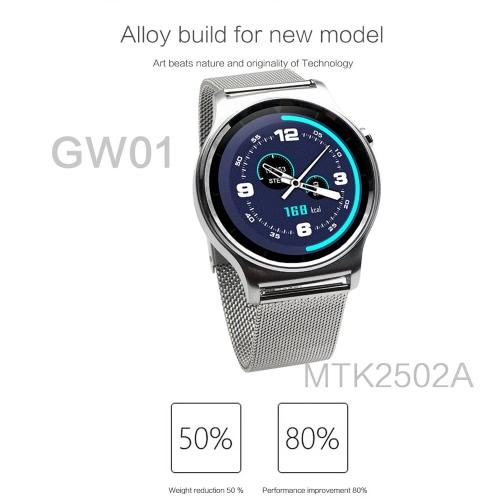 GW01 Smart Watch 1.3inch Full Round IPS