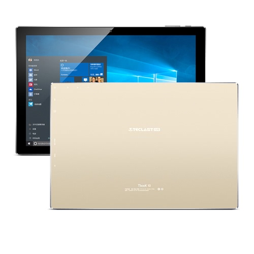 Buy TECLAST Tbook 10 Tablet PC 10.1inch IPS HD Screen 1920*1200px Intel Cherry Trail 64Bit Processor 1.84GHz Windows / Android 5.1 Dual Operation System 4GB RAM 64GB ROM Built-in 6500mAh Battery Bluetooth 4.0 WiFi Computer