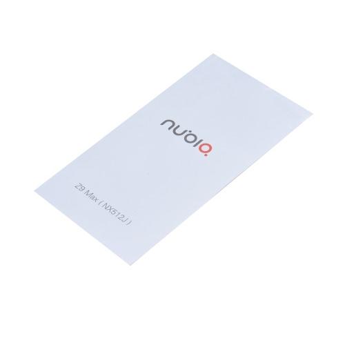 nubia Z9 Max NX512J Smartphone 4G LTE 3G WCDMA Qualcomm Snapdragon 615 MSM8939-R3 64-bit Octa Core 5.5 Inches FHD 1920*1080 Pixels Screen nubia UI OS 2GB RAM+16GB ROM 8MP+16MP Dual Cameras OTG NFC Dual-band WiFi 7.9mm Ultra-thin Metal Body HiFi Dolby P15