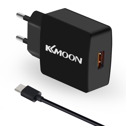 Buy KKMOON K6 Charge Suit Charger Plug Adapter QC3.0 + Micro USB Cable Mobile Phone Tablet PC