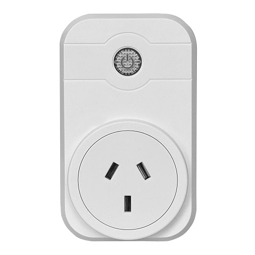 240V Wifi Smart Socket Outlet US UK EU AU Wall Plug Support Wireless APP Remote Control Home Appliance Timing Switch Turn On/Off Electronics for iOS iPhone Android Smart Phones