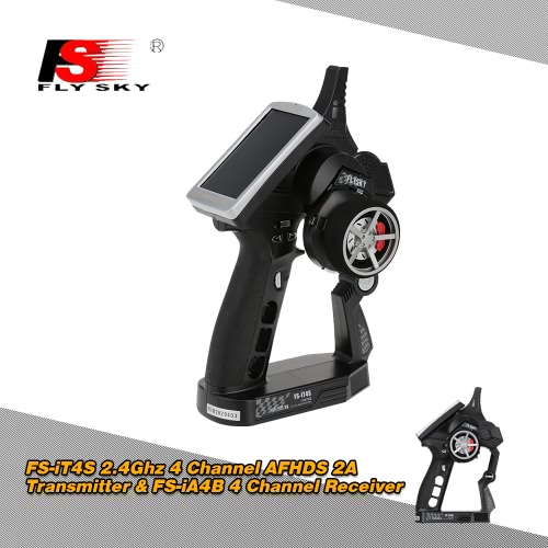 Original Flysky FS-iT4S 2.4Ghz 4 Channel AFHDS 2A Automatic Frequency Hopping Digital Transmitter &amp; FS-iA4B 2.4Ghz 4 Channel Receiver for RC Boat CarFlySky Transmitter &amp; Receiver<br>Original Flysky FS-iT4S 2.4Ghz 4 Channel AFHDS 2A Automatic Frequency Hopping Digital Transmitter &amp; FS-iA4B 2.4Ghz 4 Channel Receiver for RC Boat Car<br><br>Blade Length: 28.0cm
