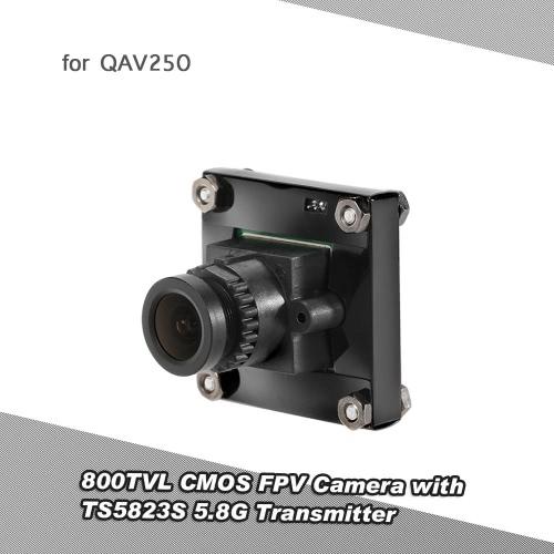 800TVL CMOS FPV Camera PAL System with TS5823S 5.8G 200mW 40CH AV Transmitter Combo Set for QAV250 FPV Racing Drone RC Quadcopter
