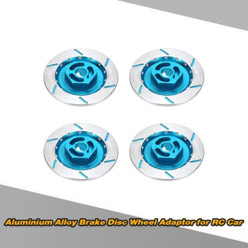 4Pcs Aluminum Alloy Brake Disc Wheel Adaptor for Suitable for 1/10 Off-road Buggy Monster Truck Short Course On-road Flat RC CarHSP Other Parts<br>4Pcs Aluminum Alloy Brake Disc Wheel Adaptor for Suitable for 1/10 Off-road Buggy Monster Truck Short Course On-road Flat RC Car<br><br>Blade Length: 5.0cm