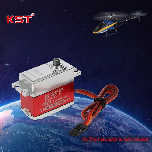 Image of Original KST DS725MG Standard HV Metal Case Metal Gear Digital Servo for 550 RC Helicopter Airplane