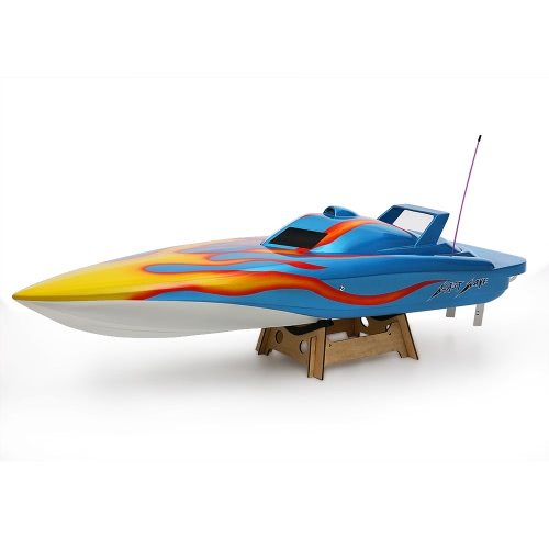 Original VANTEX Blast Wave 1300BP (Blue) FS-GT2 2.4G Transmitter High Speed 60km/h Electric RC Racing Boat