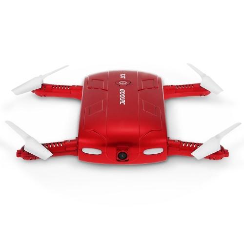 Goolrc t37 wifi fpv hd camera g-sensor altitude hold foldable mini selfie...