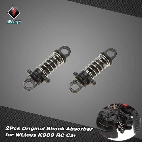 2Pcs Original WLtoys K989-43 Shock Absorber for WLtoys K969 K979 K989 K999 1/28 Scale RC Car RM5574