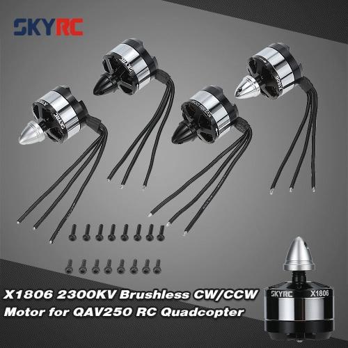 Buy Original SKYRC X1806 2300KV Brushless CW/CCW Motor QAV250 RC Quadcopter