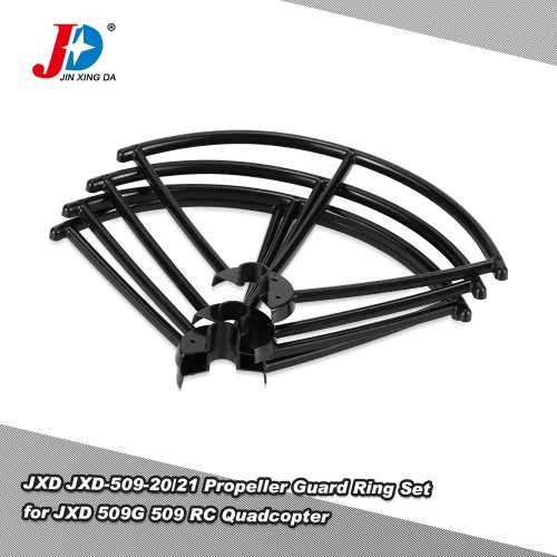 Original JXD JXD-509-20/21 Left and Right Propeller Guard Ring Set for JXD 509G 509 RC QuadcopterAirplane Toys Parts<br>Original JXD JXD-509-20/21 Left and Right Propeller Guard Ring Set for JXD 509G 509 RC Quadcopter<br><br>Blade Length: 13.5cm