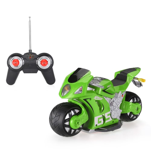 Liangang toys a11 2.4ghz 1/8 high simulated 180° drifting rc motorcycle car...
