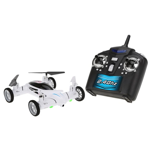 Original SY X25 2.4G 4CH 6-Axis Gyro Air-Gronud RC Flying Car without Camera 360 Degree Flips Auto Return FunctionAirplane Toys<br>Original SY X25 2.4G 4CH 6-Axis Gyro Air-Gronud RC Flying Car without Camera 360 Degree Flips Auto Return Function<br><br>Blade Length: 34.0cm