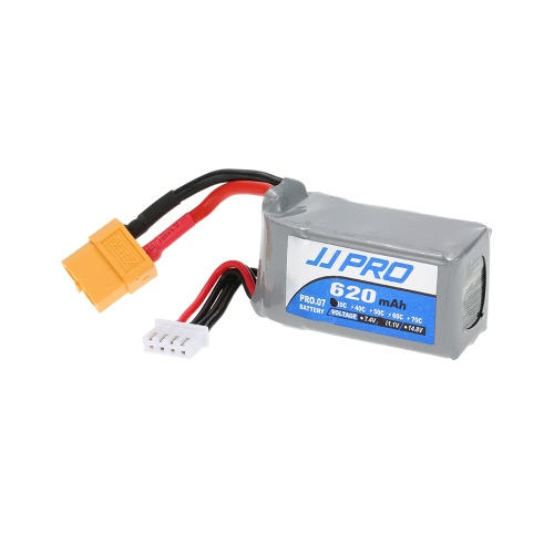 Original JJRC JJPRO 11.1V 850mAh 30C 3S Li-Po Battery with XT60 Plug for 120mm 130mm H150 RC Quadcopter Mini Racing Drone