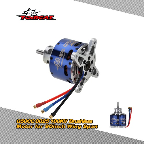 Buy Tomcat G50CC 8825 180KV 5T Outrunner Brushless Motor 90inch Wing Span RC Fixed-wing