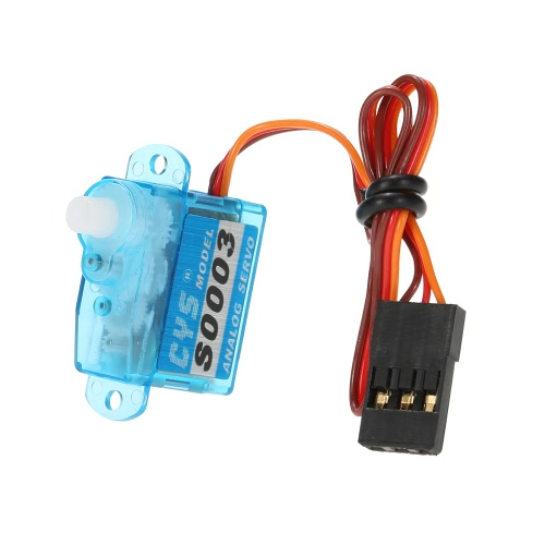 CYS-S0003 3g Light Weight Plastic Gear Micro Analog Standard Servo For RC Mini Drone Fixed-wing AircraftServo<br>CYS-S0003 3g Light Weight Plastic Gear Micro Analog Standard Servo For RC Mini Drone Fixed-wing Aircraft<br><br>Blade Length: 4.9cm