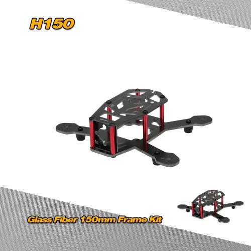 H150 150mm 4 Axis Glass Fiber Racing Quadcopter Frame Kit for FPVMulticopter Frame<br>H150 150mm 4 Axis Glass Fiber Racing Quadcopter Frame Kit for FPV<br><br>Blade Length: 15.5cm